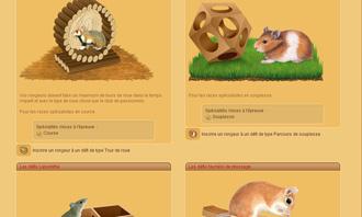 HamsterStory - Los desafios roedor